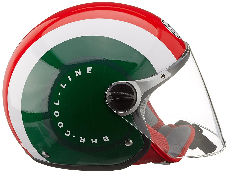 BHR Helm 710 Demi Jet Casco Wei/ß 59//60