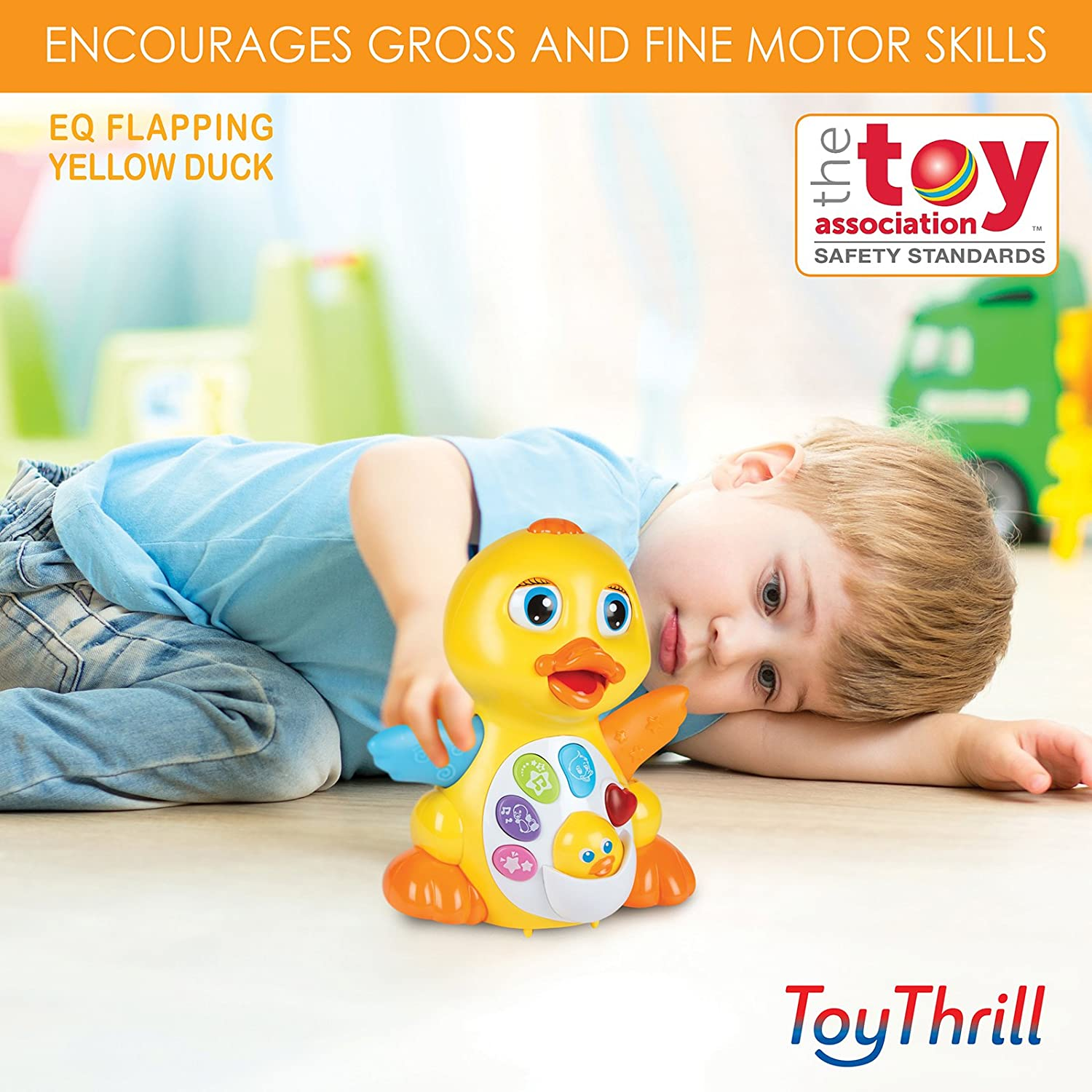 Amazon Light Up Dancing and Singing Duck Toy – Infant Baby