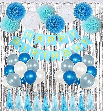 Amazon.com: Kit de decoración de fiesta de cumpleaños para ...