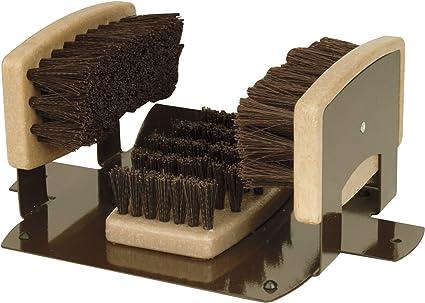 Performance Tool W9451 Boot Brush Cleaner Floor Mount with Hardware Indoor//Outdoor