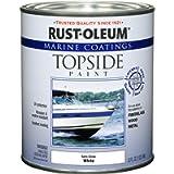 207000 Marine Coatings Topside Paint, Quart, Semi-Gloss White (New Version)