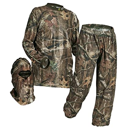 d21026b632229 HECS Suit Deer Hunting Clothing with Human Energy Concealment Technology -  Camo 3 Piece Shirt,