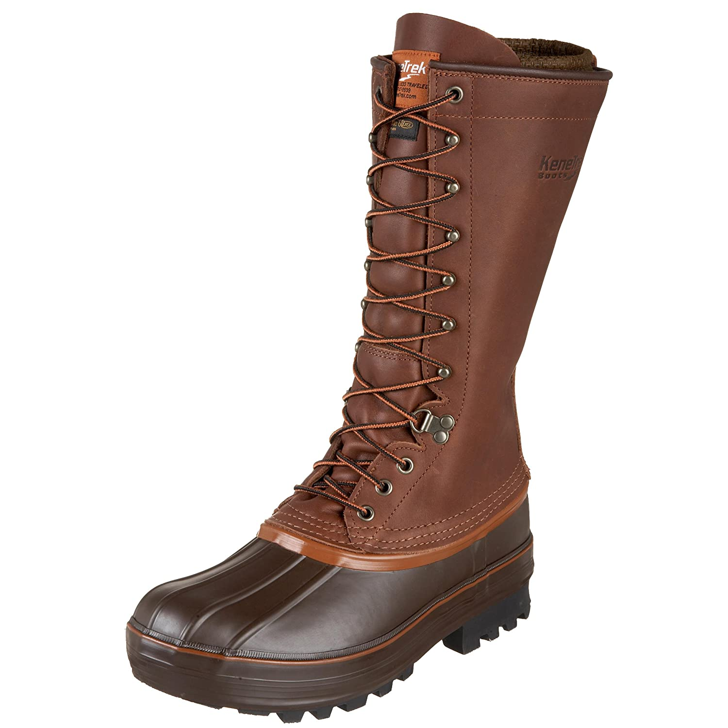 Kenetrek Unisex 13 Inch Grizzly Insulated Boot B001KQ1HD2 15 M US|Brown