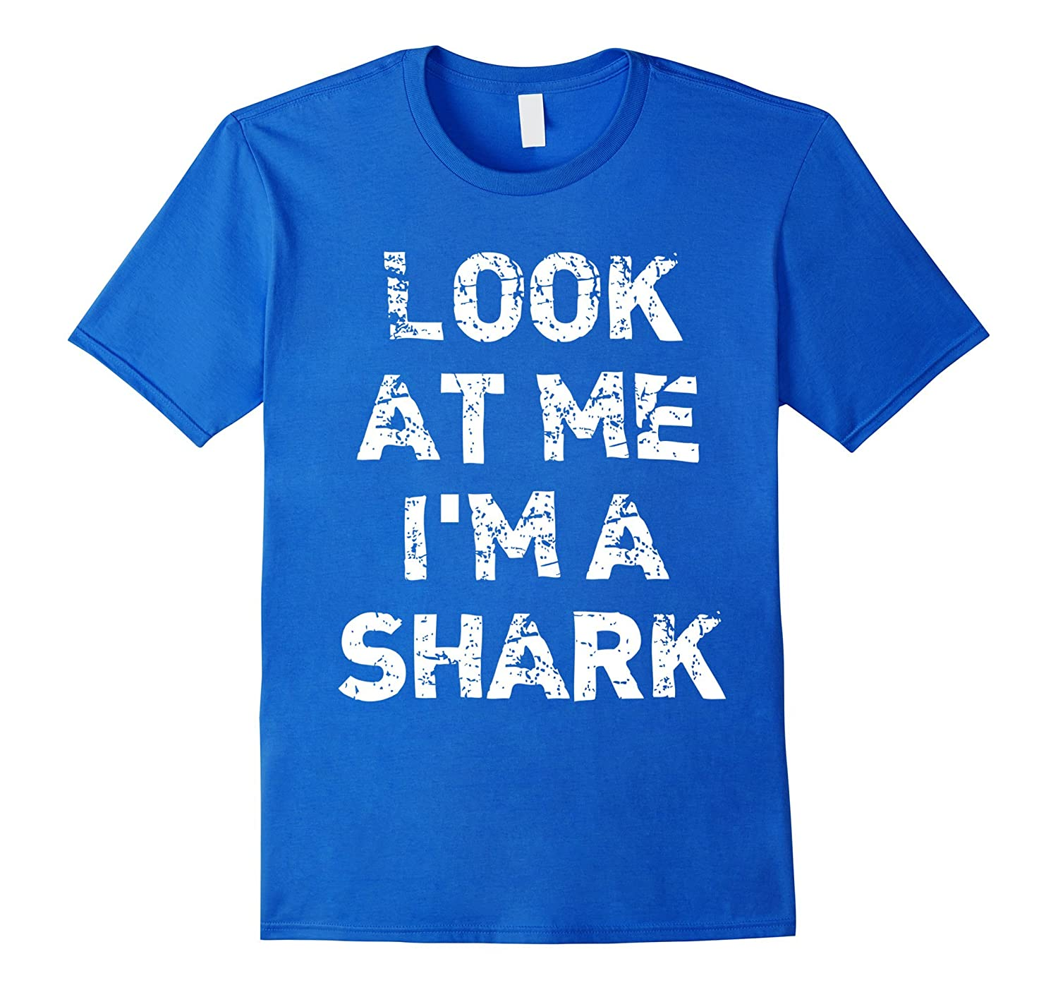 """Look At Me I'm A Shark"" Funny Halloween T-Shirt"