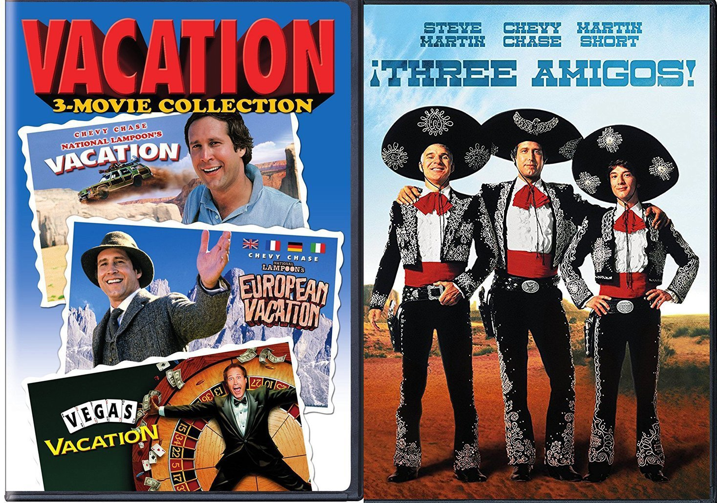 Chevy Las Vegas >> Amazon Com Vacation Chevy Chase Three Amigos Dvd Las Vegas