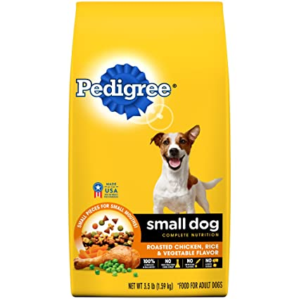 Amazon Pedigree Small Dog Complete Nutrition Adult Dry Dog Food