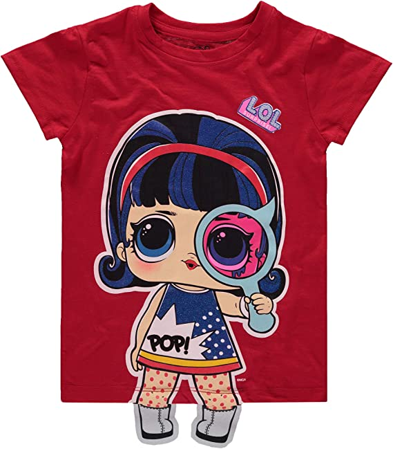 Surprise Rock On Girls long sleeve tee t shirt top New Free postage L.O.L