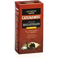 Catunambú, Café Molido Descafeinado Mezcla - 250 gr.