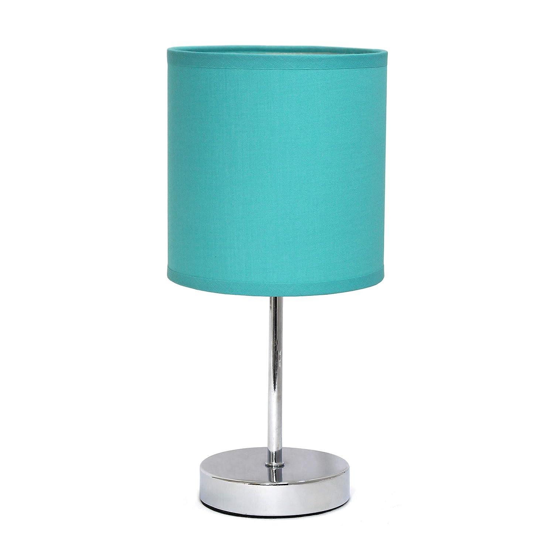 Amazon.com: Lámpara de mesa con pantalla de tela ...