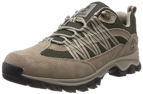 Timberland MT Maddsen Lite Hiker, Zapatos de Cordones Oxford para Hombre, Marrón (Greige D82), 41.5 EU