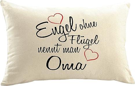 Funda de cojín de Mister Merchandise, con mensaje «Engel ...