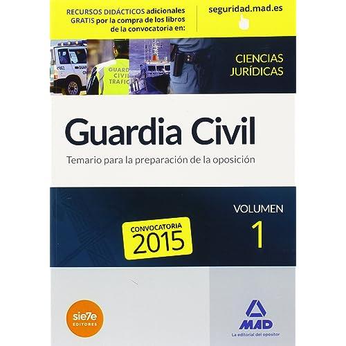 Temario Guardia Civil: Amazon.es