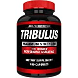 Tribulus Terrestris 1500MG Extract Powder - Testosterone Booster with Estrogen Blocker - Arazo Nutrition USA - 180…