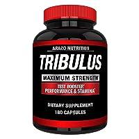 Tribulus Terrestris Extract Powder - Testosterone Booster with Estrogen Blocker...