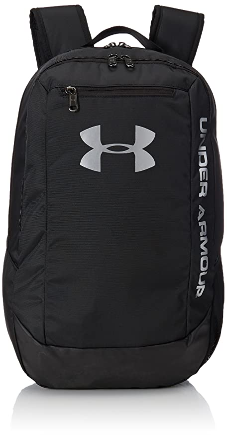 Amazon.com  Under Armour Hustle LDWR Backpack One Size Black Black ... ef09025bfe7c0