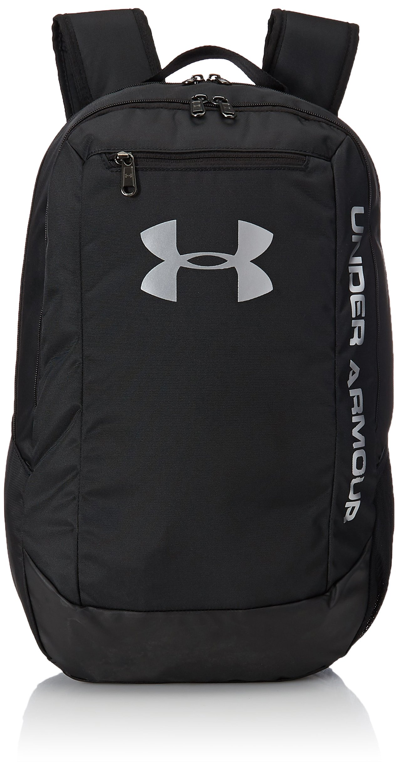 Under Armour Hustle LDWR Backpack One Size Black Black Silver