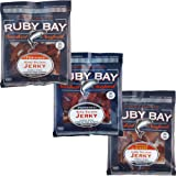 Ruby Bay Wild Salmon Variety Pack Jerky - 3 Pack - Gluten Free - Non GMO - Kosher - Naturally High in Omega-3