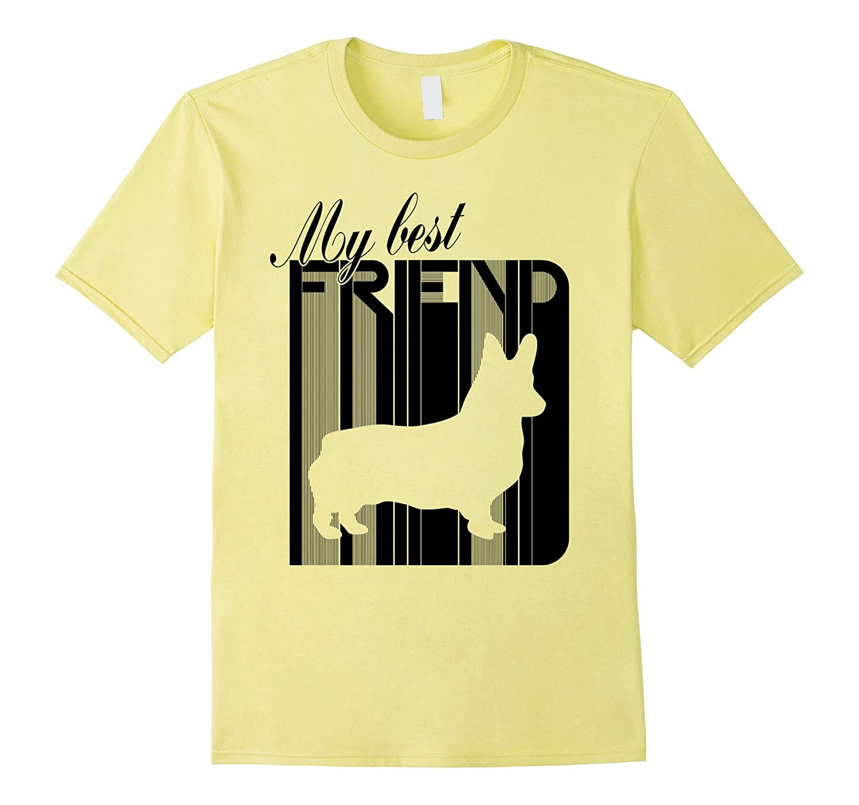 Pembroke Cardigan Welsh Corgi Dog Breed Best Friend T-Shirt-T-Shirt
