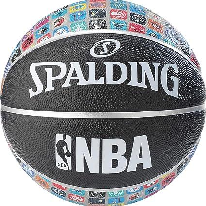 Spalding Balón NBA Colletion Multicolor 83-649Z: Amazon.es ...