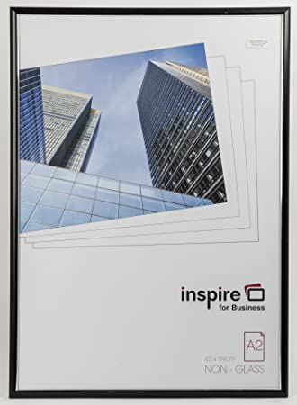 inspire for business a2 easy loader photoposter frame black