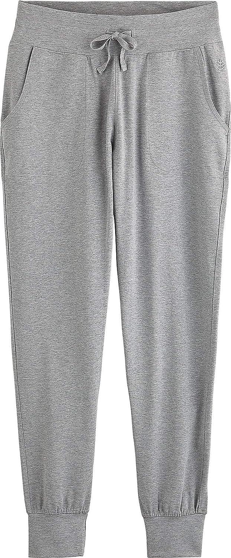 Coolibar Women's Uv-Protective Pants Heather Grey