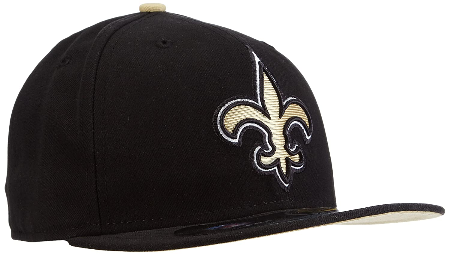40c2d2e7c new zealand amazon nfl mens new orleans saints on field 5950 game cap by new  era