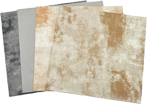 Man in The Mirror Rock-N-Roll Collection Leather Pack 12 x 12 Leather Cowhide 2-4 oz