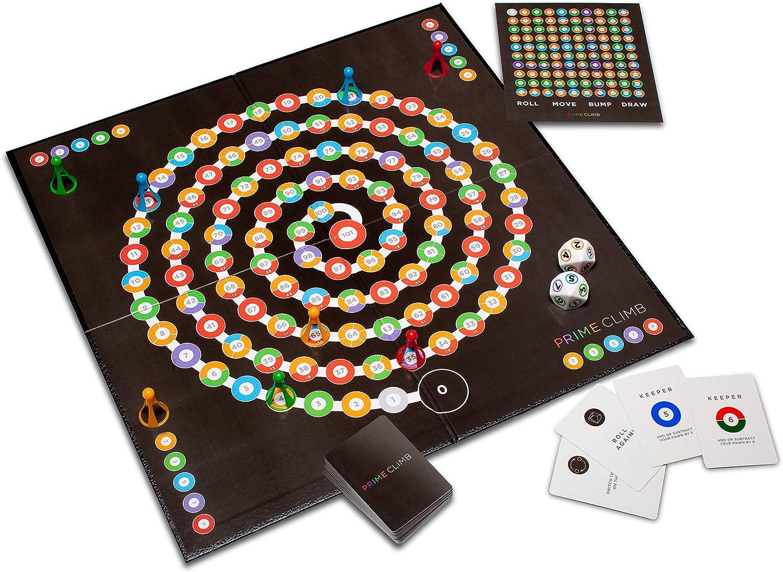 Math for Love Prime Climb board game