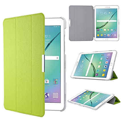 sports shoes f26f2 6defb Samsung Galaxy Tab S2 8-Inch Case - IVSO Slim Smart Cover Case for Samsung  Galaxy Tab S2 8-Inch Tablet (Green)