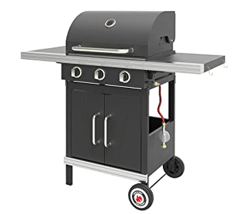 Landmann 12210 – Barbacoa de gas, color negro