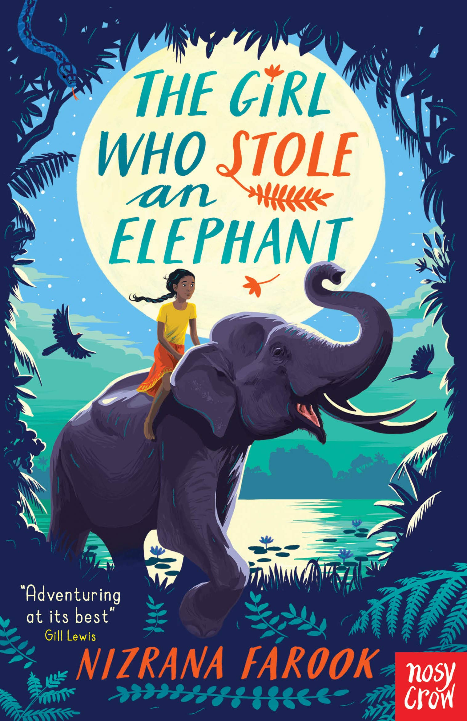 The Girl Who Stole an Elephant: Amazon.co.uk: Nizrana Farook:  9781788006347: Books