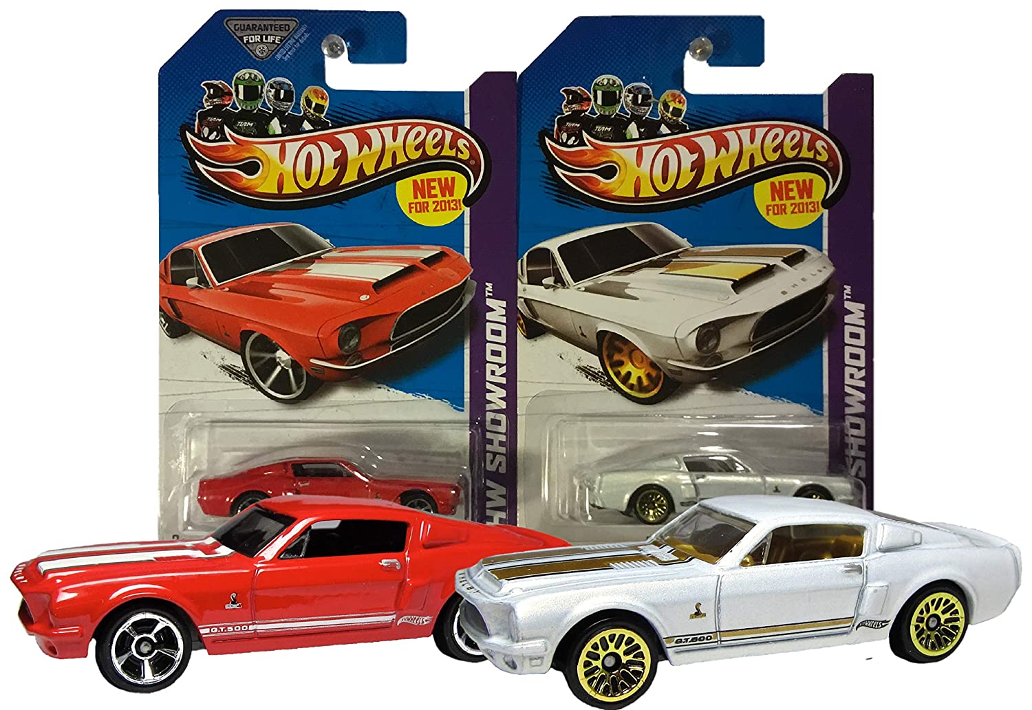 68 Shelby Gt500 >> Amazon Com Hw Hot Wheels 2013 245 250 Showroom 68 Shelby Gt500