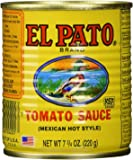 EL PATO Mexican Hot Style Tomato Sauce 7.75 Oz - (6-Pack) by El Pato
