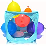 Amazon.com: Plata Arco Iris Super Holey Caja de globos ...