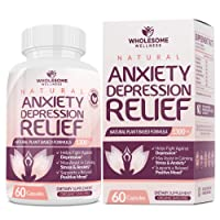 Happy Pills Natural Anti Anxiety Relief & Depression Supplement | Dopamine Mood...
