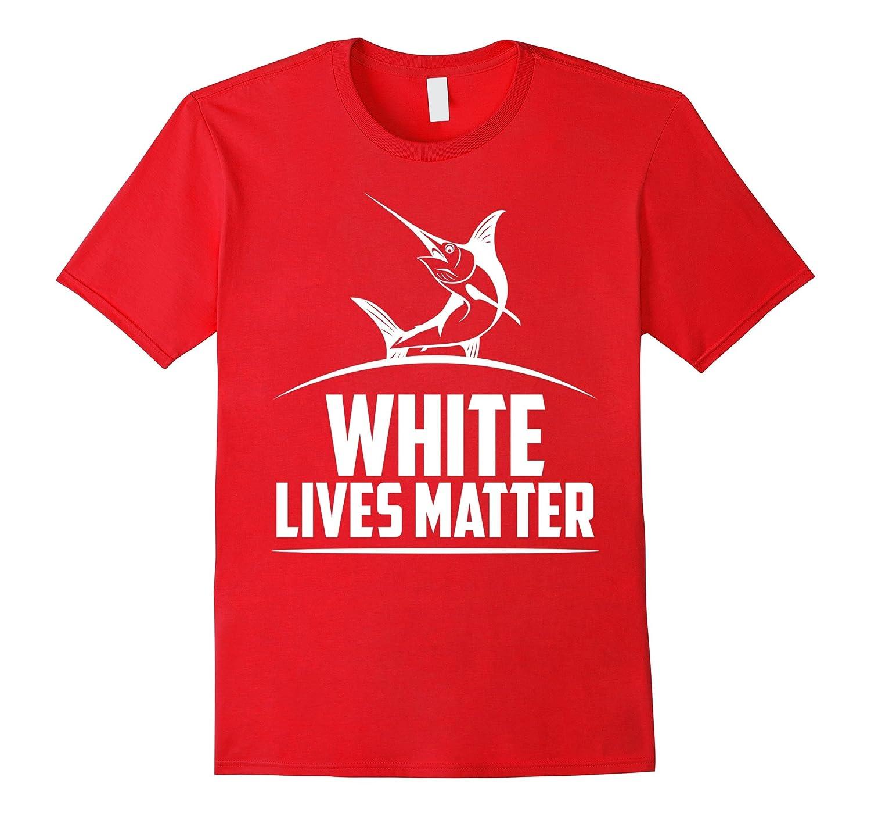 White Marlin lives matter T-shirt-RT