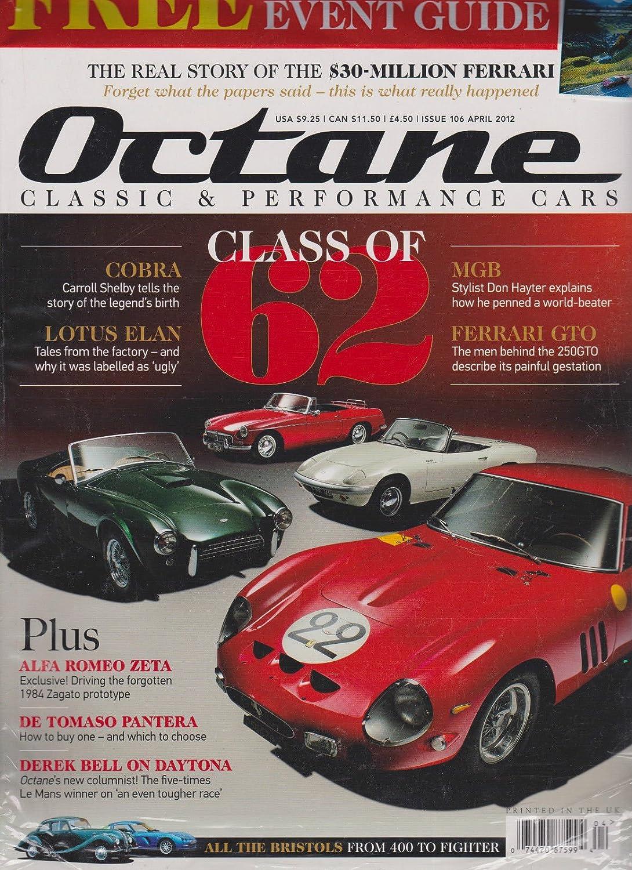 Amazon.com: Octane Magazine UK April 2012,with FREE CLASSIC CAR ...