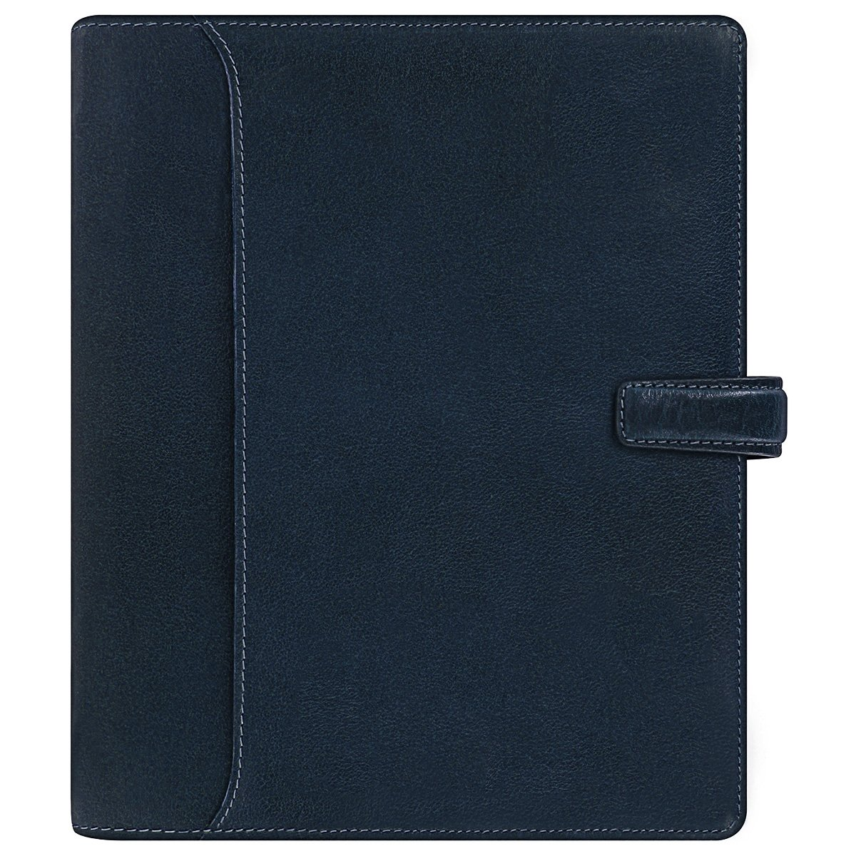 Filofax Lockwood A5 Size 6 Rings Organiser/Agenda Navy Leathe 026058 with Diary 2018