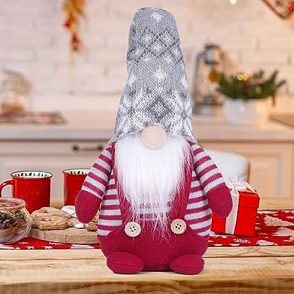 Christmas Home Party Doll Faceless Gnome Santa Xmas Ornaments Dining Table Decor