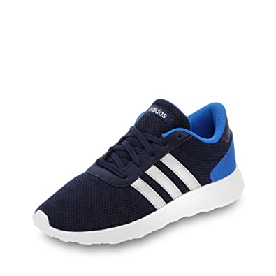 adidas Unisex-Kinder Lite Racer Inf Turnschuhe, Blau (Maruni/Plamat/Azul), 20 EU