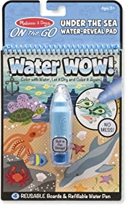 Melissa & Doug On the Go Water Wow! Reusable Water-Reveal Activity Pad - Under the Sea