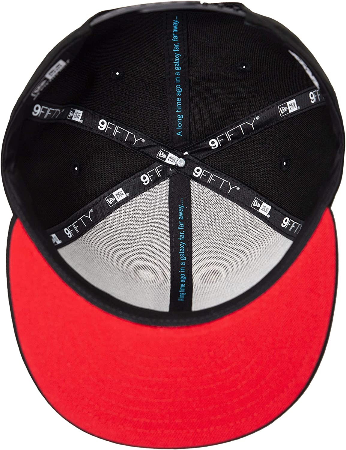 Star Wars The Rise of Skywalker Leather Empire Trio 9Fifty Adjustable Hat Black