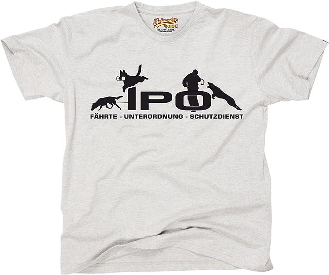 Groenendael Damen T-Shirt L-3XL Belgischer Schäferhund Hundesport IPO