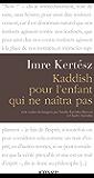 Kaddish pour l'enfant qui ne naîtra pas