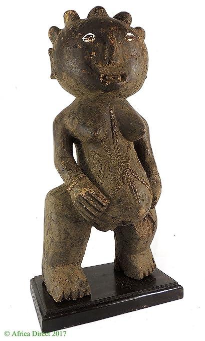 sukuma embarazadas fertilidad figura arte africano tanzanía