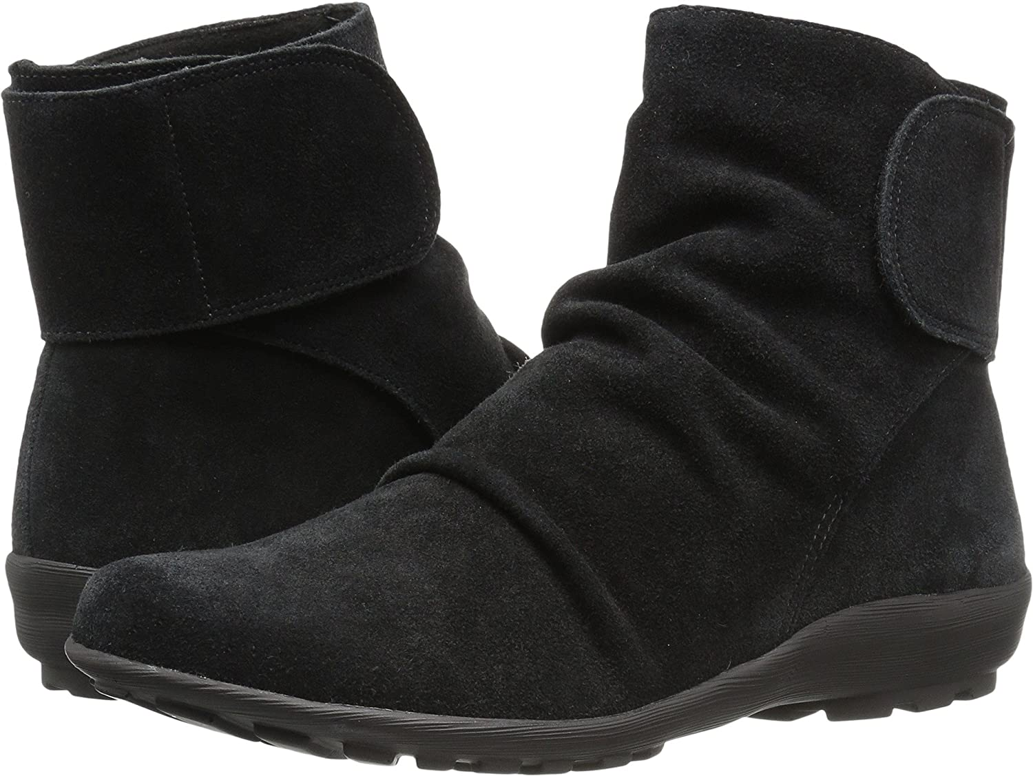 Walking Cradles Women's Harlow Ankle Boot B0762DB98R 10.5 D US|Black Max Suede