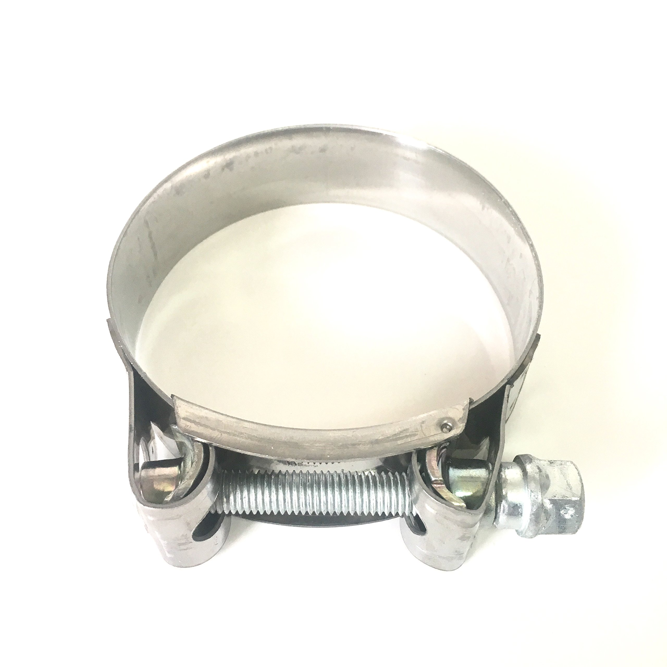 Mikalor - Supra W2 130mm-140mm Stainless Steel 5'' T-Bolt Hose Clamp (Qty1) - 119-12700-1000