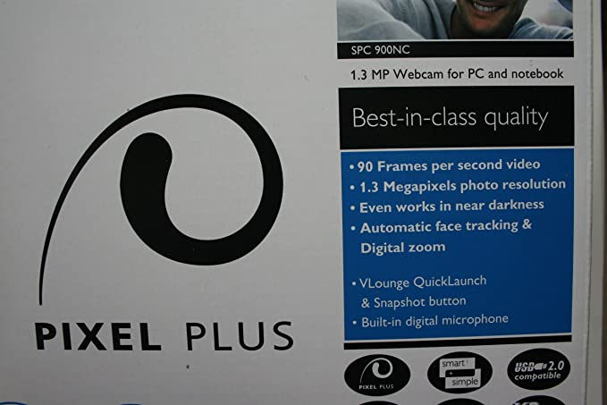 Philips SPC900NC PC Web Camera With VGA CCD Sensor And USB 20 Interface Amazonca Electronics