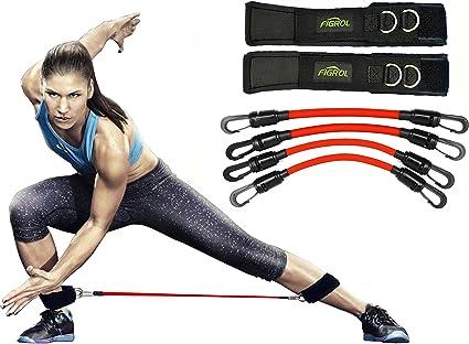 Amazon.com: FIGROL bandas de resistencia para las piernas ...