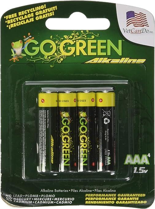 Amazon Com Go Green Power Inc Aaa Alkaline Batteries 4 Count Health Personal Care